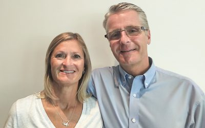 Photo of Shelley and Jeff Parr provided by Western University.