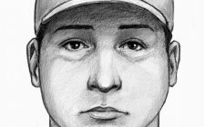 A composite sketch of a suspect in an indecent act in Leamington is seen, September 18, 2020. Sketch courtesy Ontario Provincial Police.