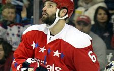 Mike Weber, with the Washington Capitals in 2016. Photo courtesy Michael Miller/Wikipedia.