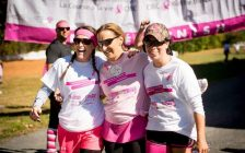 Participants of a Run for the Cure event in Chatham-Kent. (Photo from Chatham-Kent - Canadian Cancer Society CIBC Run for the Cure Facebook Page)
