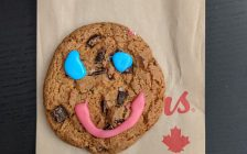Tim Horton's Smile cookie. September 2019. (Photo by Sikander Iqbal)
