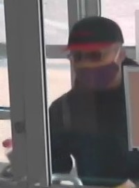Suspect in downtown bank robbery, September 22, 2020. (Photo provided by Windsor Police Service)