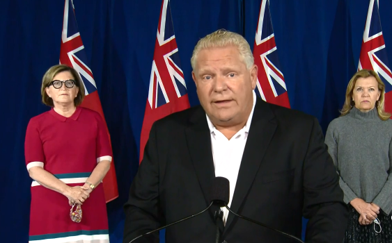 Ford government to limit social gatherings to 10 people for Toronto, Ottawa