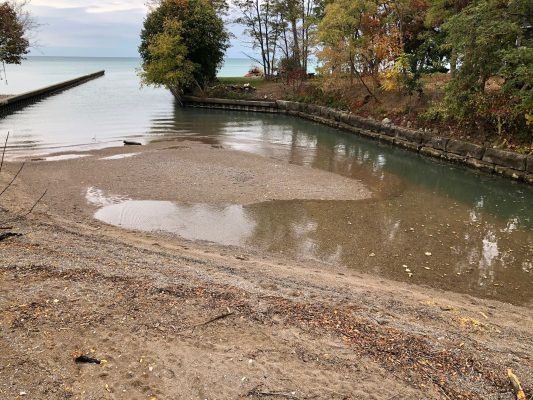 Cow Creek. October 19, 2020 Photo by Rob Ravensberg. Provided to Blackburn News Sarnia, on behalf of the group, by Mark Moran.