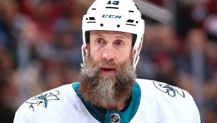 Joe Thornton. (Photo courtesy of the NHL via Twitter)