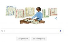 Google Doodle celebrating the 197th birthday of Mary Ann Shadd Cary. October 9, 2020. (Screen grab from Google.com)