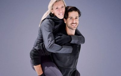 Meghan Agosta and Andrew Poje will be partners for the 2020 season of Battle of the Blades. (Photo courtesy of CBC)
