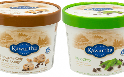 Kawartha Dairy is recalling two flavours of ice cream over metal concerns. Photo courtesy of the Canadian Food Inspection Agency.