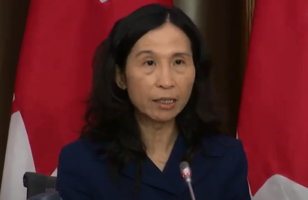 Chief Public Health Officer, Dr. Theresa Tam (Courtesy of the Government of Canada)