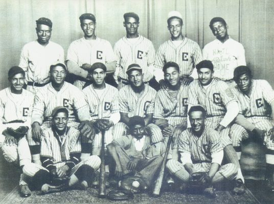 Chatham Coloured All-Stars 1934 Championship photo (Breaking the Colour Barrier, accessed November 25, 2020, https://cdigs.uwindsor.ca/BreakingColourBarrier/items/show/960)