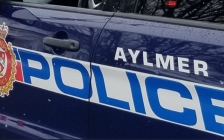 Aylmer police cruiser. Photo from the Aylmer Police Facebook page.