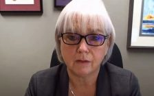 HDGH CEO Janice Kaffer. Screenshot from WECHU daily update on YouTube.