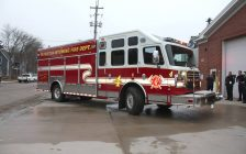 Plympton-Wyoming Fire Department. Photo courtesy of the Wyoming Volunteer Firefighters Association Facebook page.