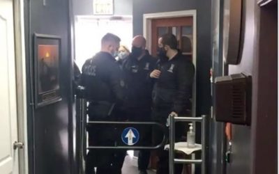 Business charged, several warned for alleged lockdown violations  image