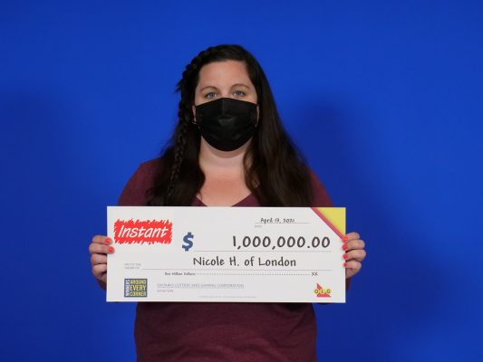 Photo of Nicole Higgs provided by Ontario Lottery and Gaming.