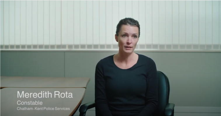 informational video from Chatham-Kent Victim Services. (Photo via YouTube)