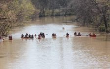 Typically held at the end of April, the Sydenham River Canoe and Kayak Race features eleven classes and three different race lengths to appeal to both competitive and recreational paddlers. (Submitted photo)