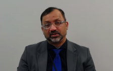 Medical Officer of Health Doctor Wajid Ahmed on April 15, 2021. (Photo a screenshot of daily WECHU update on YouTube)