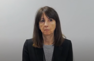 WECHU CEO Theresa Marentette on April 15, 2021. (Photo a screenshot of daily WECHU update on YouTube)