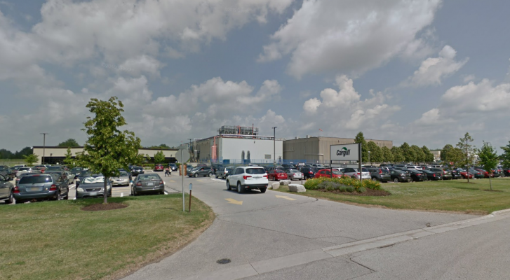 Cargill meat processing plant located on 10 Cuddy Blvd. (Capture via Google Street View)