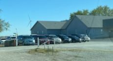 Old Colony Mennonite Church parking lot in Wheatley