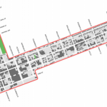 Boundaries where two-hour free parking is available. Submitted by the City of London.