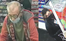 London police seek two people who may have information on a variety store robbery that took place on April 27. (Photo supplied by London police.)