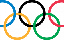 The Olympic Rings. (Public Domain)