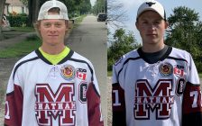 Chatham Maroons co-captains Lucas Fancy (left) and Cameron Welch (right). (Photo courtesy of the Chatham Maroons)