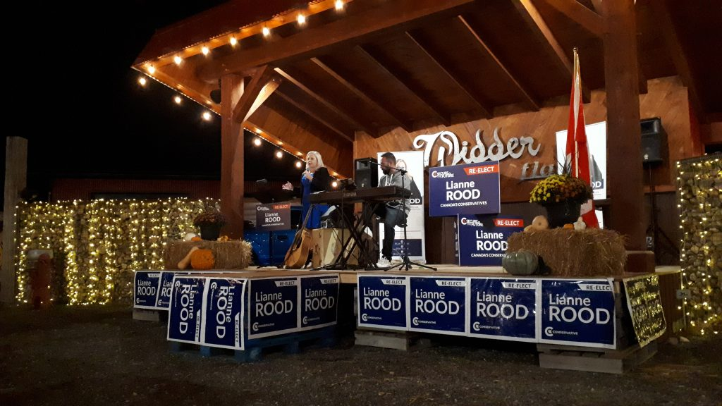 Conservative incumbent Lianne Rood