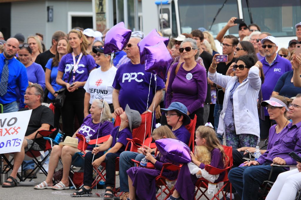 People's Party of Canada rally in Chatham-Kent
