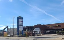 Demolition work at Bayside Mall in Sarnia. May 2021. Submitted photo.