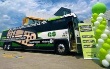 COVID-19 Mobile Vaccine Clinic. August 2021. (Photo by the Government of Ontario)
