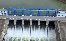 Fanshawe dam and reservoir. (Photo via Upper Thames River Conservation Authority)