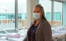 Bluewater Health Maternal Infant Child Unit Interim Manager Melissa Doan. Photo courtesy of Bluewater Health Sarnia. October, 2021.