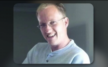 Iwan Johannes Smolders, 45, of Adelaide-Metcalfe, died October 11 after he was struck by a vehicle in a hit-and-run incident outside of Strathroy. (Capture via a memorial video from StrathroyFuneralHome.com)